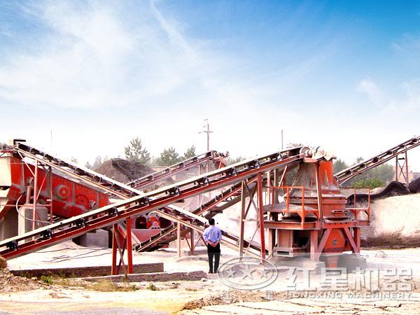 广西防城港破碎生产线
