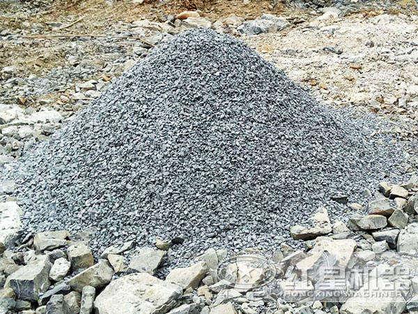 石灰石碎成石子