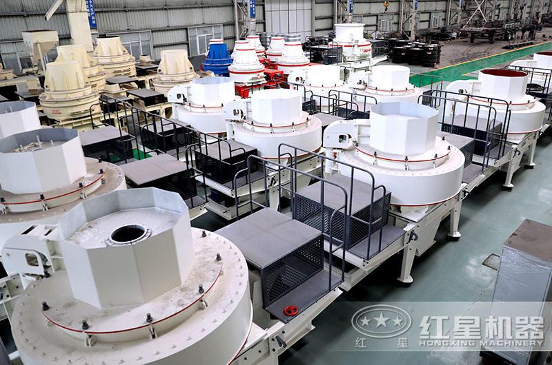 大型制砂机生产车间
