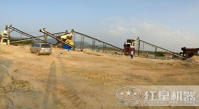 成套制砂生产线