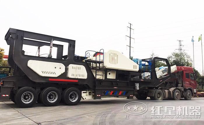 车载移动砂石生产线设备