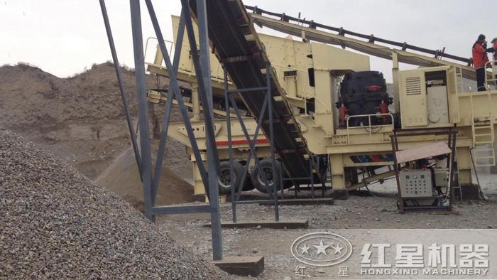 HX系列移动磕石子机