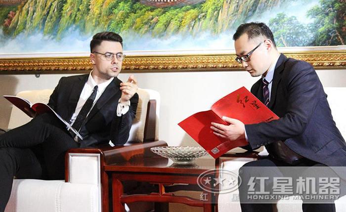 红星产品优质,与德国客户达成协议