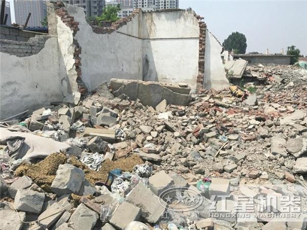 建筑垃圾图