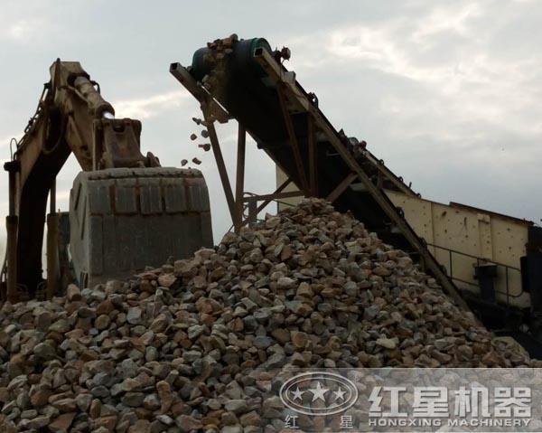 花岗岩碎石生产线