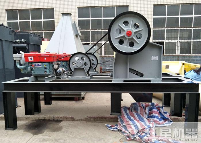 小型柴油颚式破碎机