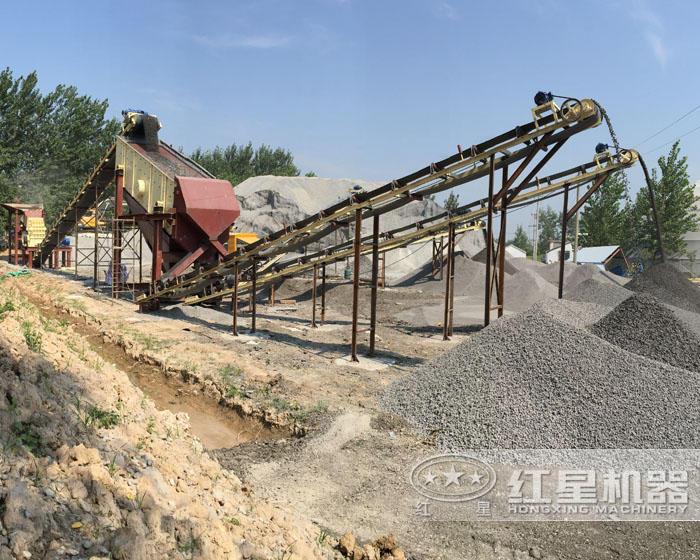 山石碎石机生产线