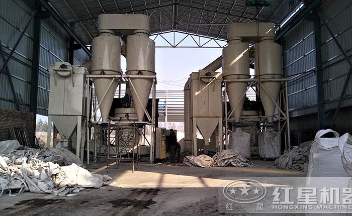 大理石粉加工流程