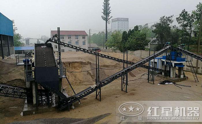 建筑用砂制砂生产线价格多少