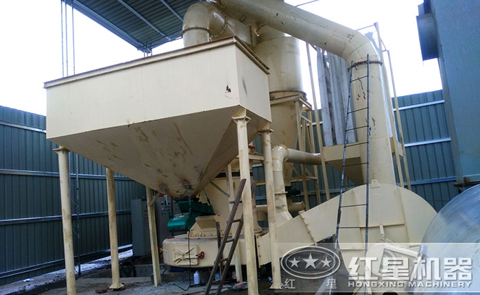 煤矸石磨粉生产线优势