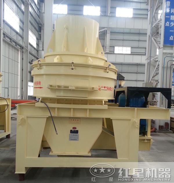 一小时100吨的制砂机