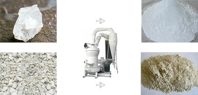磨粉机磨粉效果图