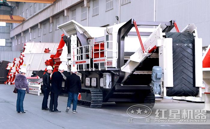 (履带式)可移动人工制砂机