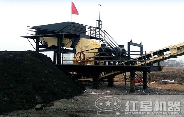 原煤破碎机