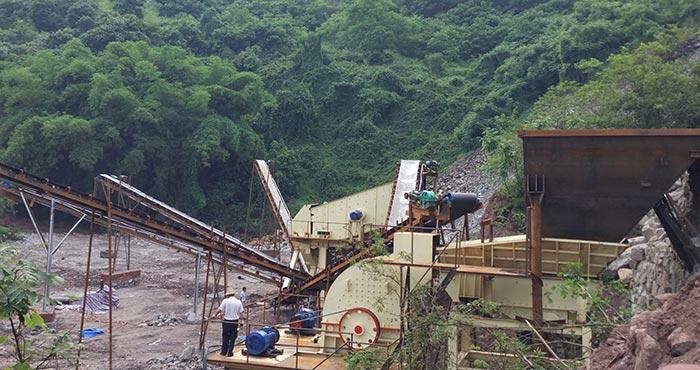 红星厂家为用户配置的碎石生产线