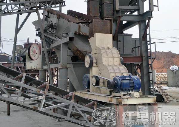 时产300吨煤块破碎生产