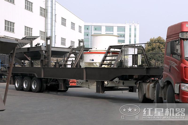 轮胎移动机制砂设备