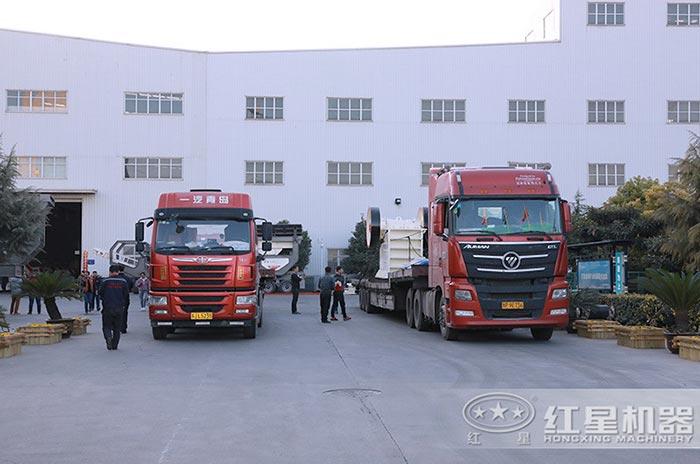 红星设备装车发货