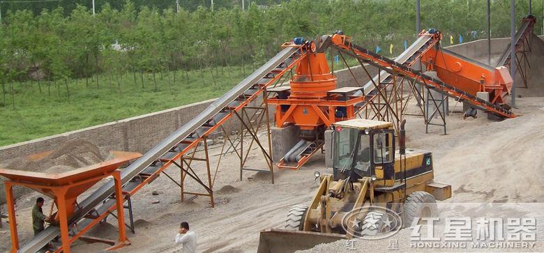 简易制砂生产线