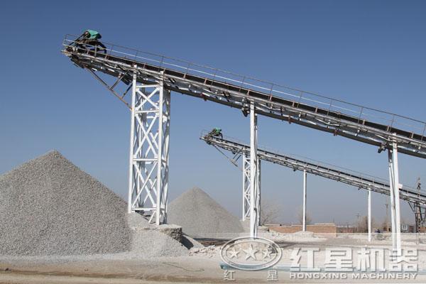 时产150-260吨长石破碎生产线