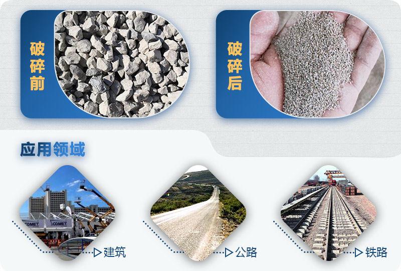 制砂成品对比图