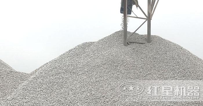 经过细沙制砂机加工之后的沙子成品