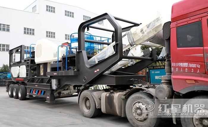 移动式煤矸石粉碎机可以随时转场