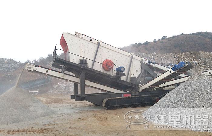 移动型沙场磨砂机