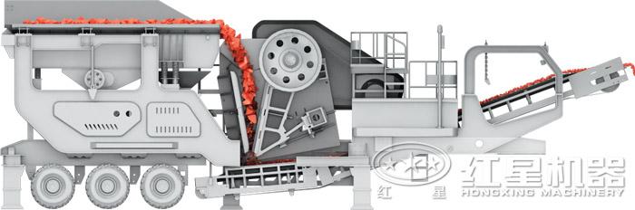 移动颚式破碎机结构图