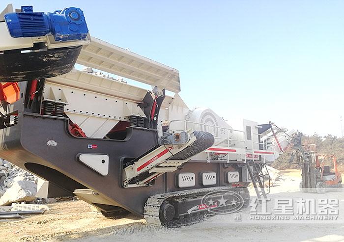 履带式大型碎砂机
