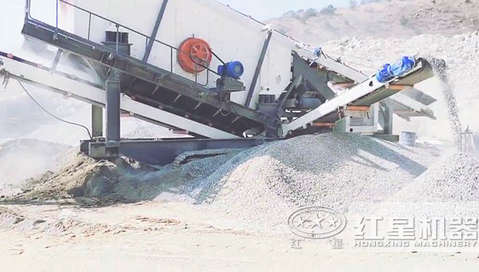 石头加工成沙子