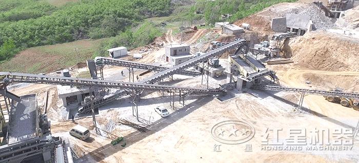 大型石料厂生产线