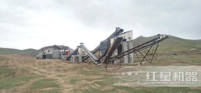 用户配置的大型石料厂生产线