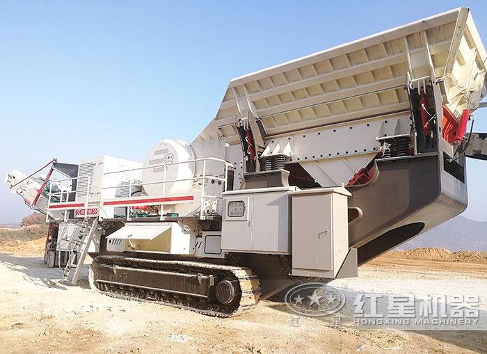 移动制砂机直接可开到现场作业