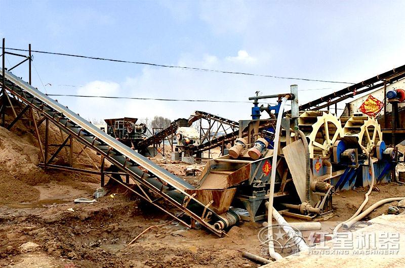 制沙洗沙生产线