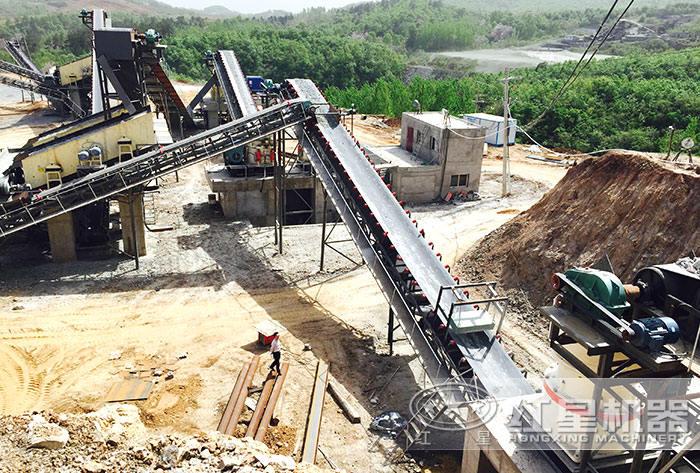 碎石制沙生产线