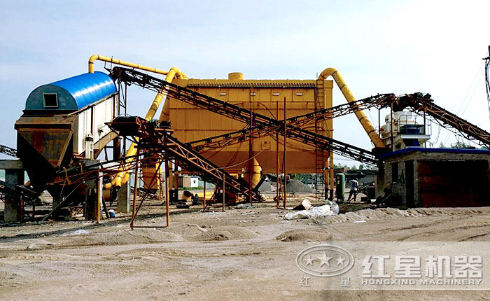 除尘制砂生产线