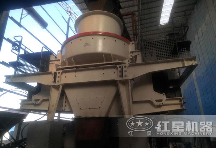 HVI石灰石制砂机