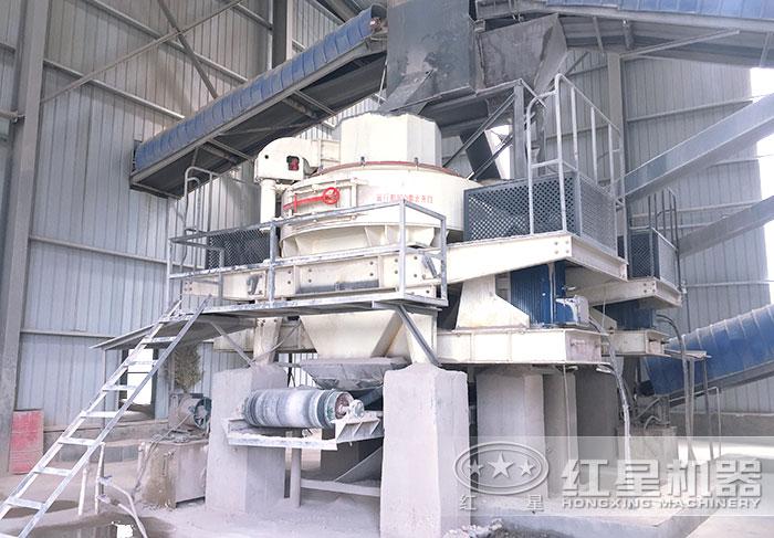 河南禹州用户选购了VSI制砂机