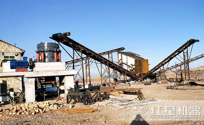 湖北咸宁碎石生产线