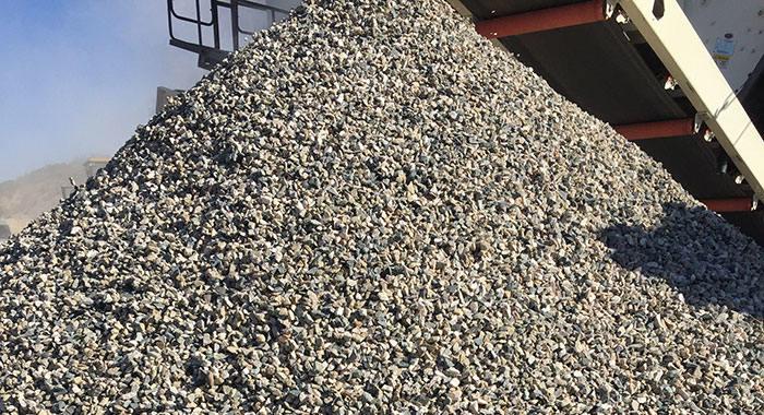 石子粉碎粒度规格