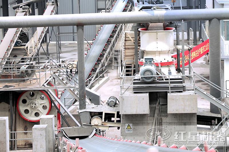 单缸圆锥破碎机,结构优化、操作方便