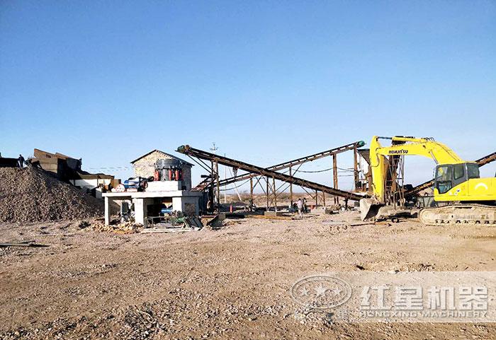 中型规模石子厂