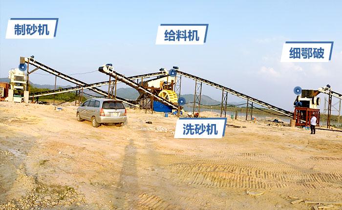 采石场制砂生产线