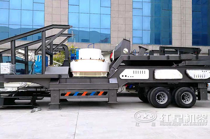 全自动制砂设备——移动制砂机