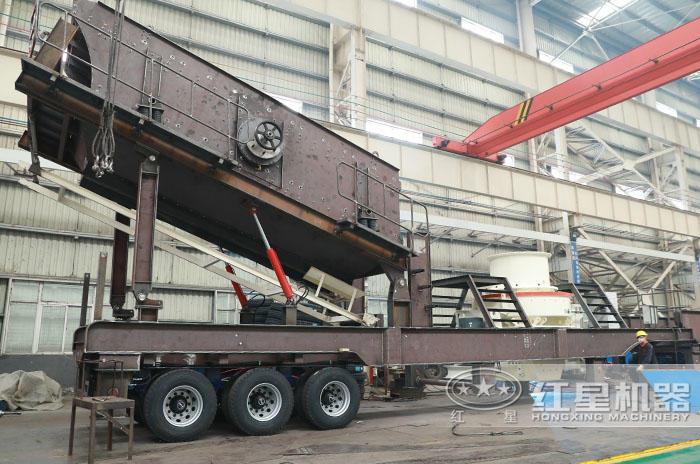 移动制砂机产量:40-500t/h
