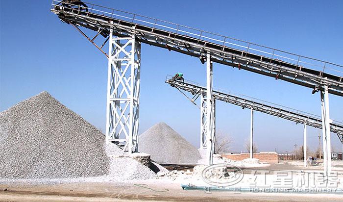 日产1500方沙石厂
