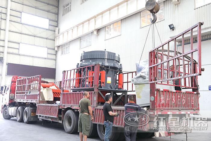 红星机器车间发货