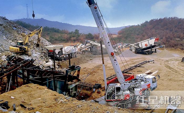 矿山破碎石料破碎设备