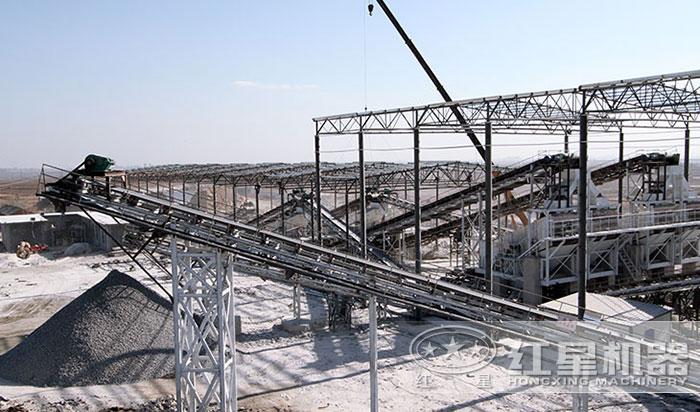 固定日产一万吨石子加工设备配置